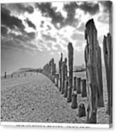 Winchelsea Beach Sussex Canvas Print