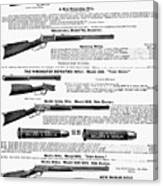 Winchester Rifles Canvas Print