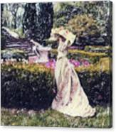Wind Through The Gardens Canvas Print