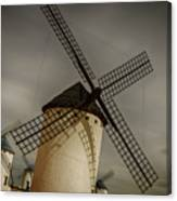 Windmills At Campo De Criptana Canvas Print