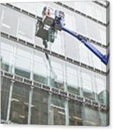 Window Cleaning Canvas Print