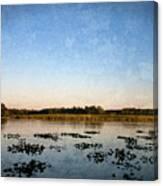 Wingfoot Lake Canvas Print