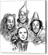Wizard Of Oz Canvas Print