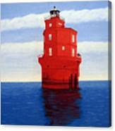 Wolf Trap Lighthouse Canvas Print