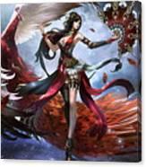 Women Warrior Canvas Print