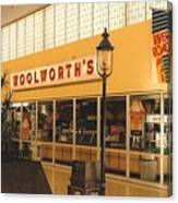 Woolworth's Store At River Roads Mall  Canvas Print