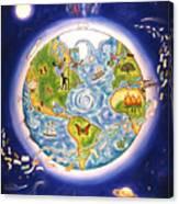World Economy Canvas Print