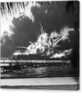 World War II: Pearl Harbor Canvas Print
