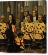 Wouter Van Der Noot Canvas Print