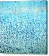 Yacht Hull Erosion Patterns Canvas Print