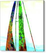 Yachtsman Canvas Print