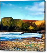 Yaquina Bay Lighthouse II Canvas Print
