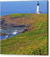 Yaquina Head Lighthouse Canvas Print