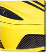 Yellow Stradale Canvas Print