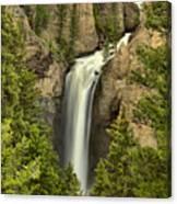 Yellowstone Tower Falls 2018 Canvas Print