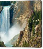 Yellowstone Waterfalls Canvas Print