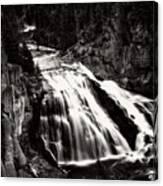Yellowstone's Gibbon Falls Canvas Print