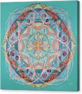Yogi By The Sea Canvas Print