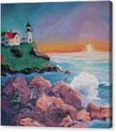 York Beach Maine Canvas Print