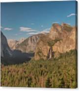 Yosemite Valley View Canvas Print