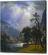 Yosemite_valley Canvas Print