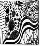 Zendoodle Design  Canvas Print