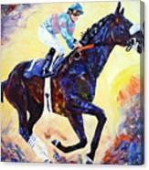 Zenyatta Grand Finale Canvas Print