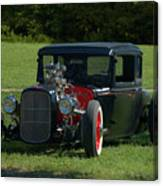 1930 Ford Coupe Hot Rod Canvas Print
