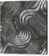 Alien Fluid Metal Canvas Print