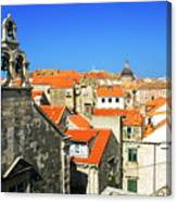 Croatia, Dubrovnik Canvas Print