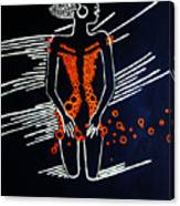 Dinka Diva - South Sudan Canvas Print