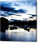 Elkton River Canvas Print