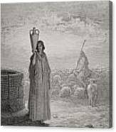 Engraving From The Dore Bible Canvas Print