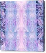 Floral Abstract Design-special Silk Fabric Canvas Print