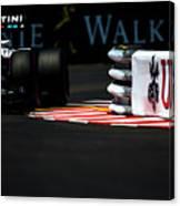 Formula 1 Monaco Grand Prix 2016 Canvas Print