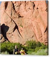 Garden Of The Gods Ten Mile Run In Colorado Springs Canvas Print