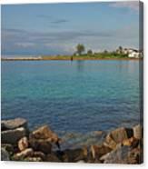 10- Lake Worth Inlet Canvas Print