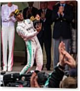Lewis Hamilton Canvas Print