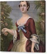 Martha Washington Canvas Print