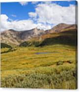 Mount Bierstadt In The Arapahoe National Forest Canvas Print