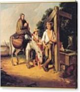 North Carolinaimmigrants Poor White Folks James Henry Beard Canvas Print
