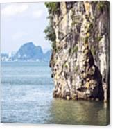 Picturesque Sea Landscape. Ha Long Bay, Vietnam Canvas Print