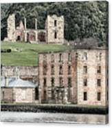 Port Arthur Building In Tasmania, Australia. Canvas Print