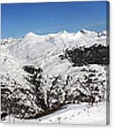 Serre Chevalier In The French Alps Canvas Print