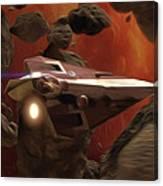 Star Wars At Poster Canvas Print