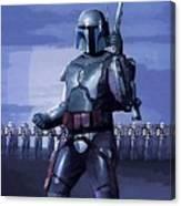 Star Wars Episode 2 Poster Canvas Print