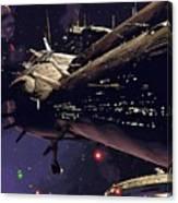 Star Wars Episode Art Canvas Print