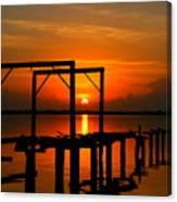 Sunrise / Sunset / Indian River Canvas Print