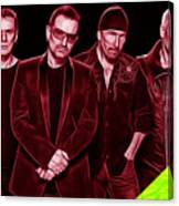 U2 Collection Canvas Print