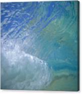 Underwater Wave Canvas Print